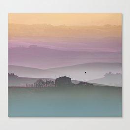 Tuscan Sunrise Canvas Print
