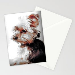 Bad Day eh? | Yorkies | Dogs | Nadia Bonello Stationery Cards