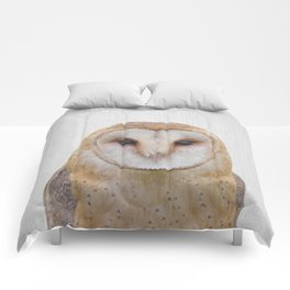 Owl - Colorful Comforters