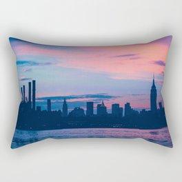 Sunset New York Rectangular Pillow