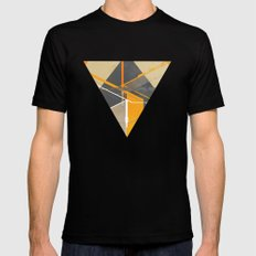 Pyramid Black Mens Fitted Tee SMALL