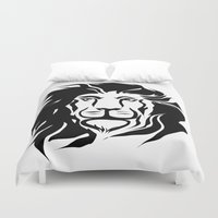 lion king Duvet Covers featuring Lion King by Alexandr-Az