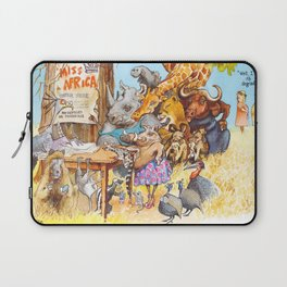 miss africa Laptop Sleeve