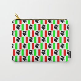 Mix of flag: Corsica and Italy Carry-All Pouch