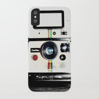 lawyer iPhone & iPod Cases featuring Shake it like a Polaroid picture by Rachel Landry