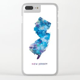 New Jersey Clear iPhone Case