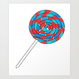 Lollipop Luxury Art Print