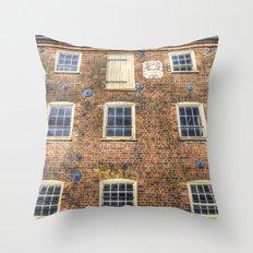 Georgian London Throw Pillow