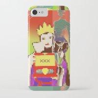 queen iPhone & iPod Cases featuring Queen by Alec Goss