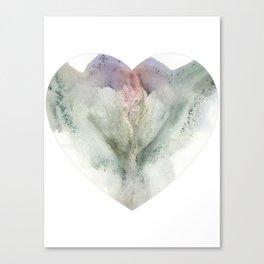 Valentine's Day Vagina Print Canvas Print