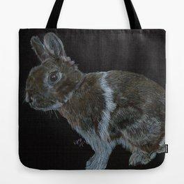 Rescued dwarf rabbit Tote Bag