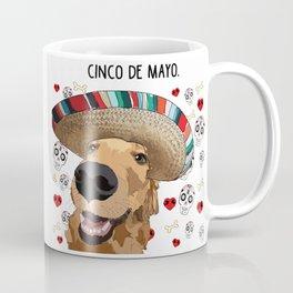 Cinco de Retriever Coffee Mug