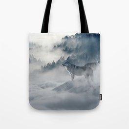 Wolves loup 2 Tote Bag