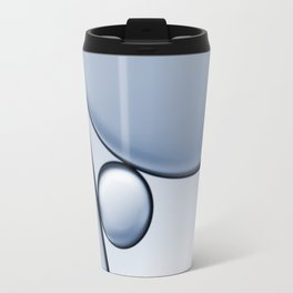 oil and water abstract I Travel Mug