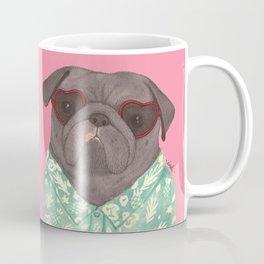 Hawaiian Pug Coffee Mug