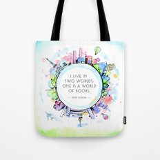 Rory Gilmore Bookish World Tote Bag
