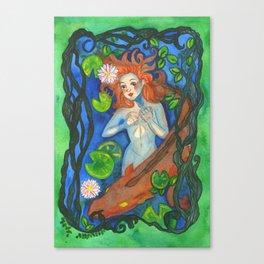 Bestiary: Rusalka Canvas Print