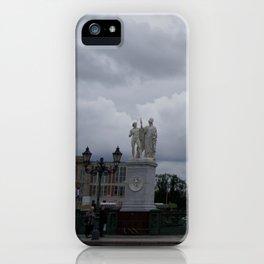Berlin clouds iPhone Case