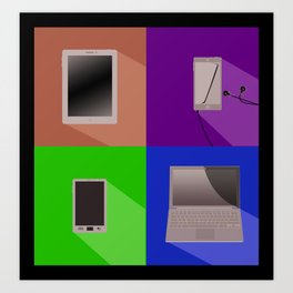Devices Art Print