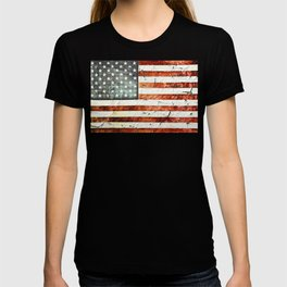 Painted Stars And Stripes T-shirt