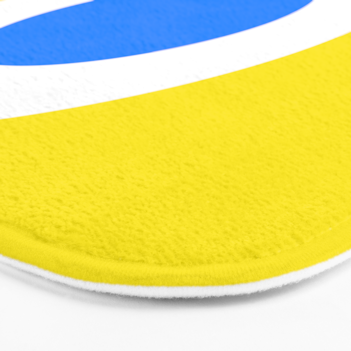 This is the Point, Yellow Pop Art Bath Mat