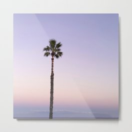 Stand out - ombré violet Metal Print