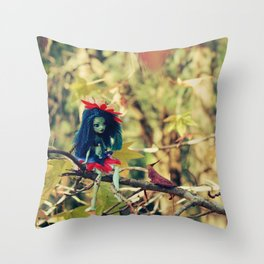 FAIRY Night-Song Fairy in my Tree Throw Pillow
