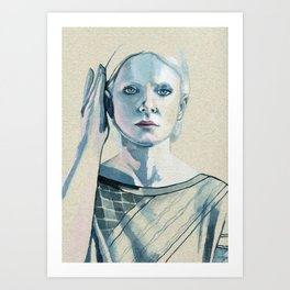 Is this all that I am? Is there nothing more? #4 Art Print