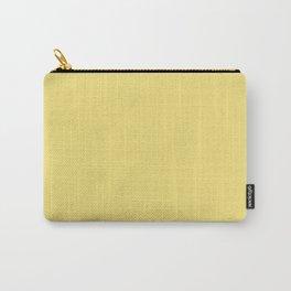 LEMON VERBENA Pastel solid color  Carry-All Pouch