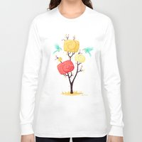 autumn Long Sleeve T-shirts featuring Autumn by Freeminds