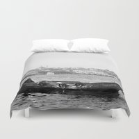 boat Duvet Covers featuring Boat by kartalpaf