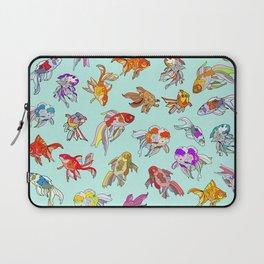 Aquarium Gold Fish Water Laptop Sleeve