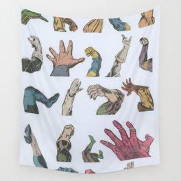 Body Language Wall Tapestry