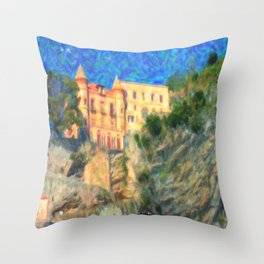 Summer Magician Throw Pillow