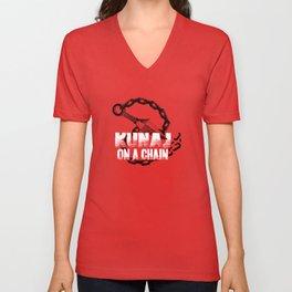 Kunai On A Chain Unisex V-Neck