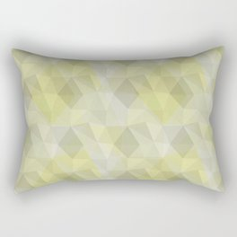 Pale yellow broken glass Rectangular Pillow