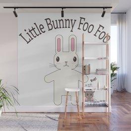 Little Bunny Foo Foo Wall Mural