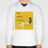 gatsby Hoodies featuring The Great Gatsby by MW. [by Mathius Wilder]
