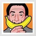 Pop Icon - Salvador Warhol by gregguillemin