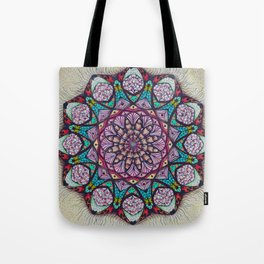 Creation Mandala - מנדלה בריאה Tote Bag
