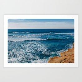 Sunset Cliffs San Diego III Art Print