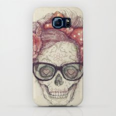 Hipster Girl is Dead Galaxy S7 Slim Case