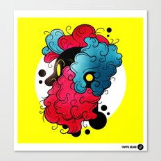 Trippie Beard Canvas Print