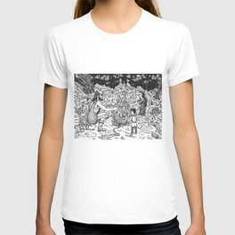 a Mage, a Wizard and a Sorcerer T-shirt