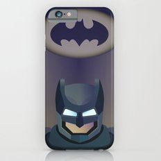 Bat man helmet fanart iPhone 6s Slim Case
