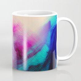 Dark Road Pink Hill Teal Valley Coffee Mug