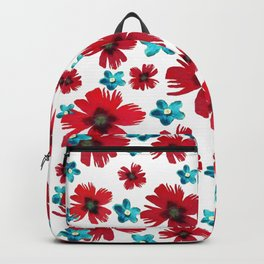Carnations & Columbines Backpack