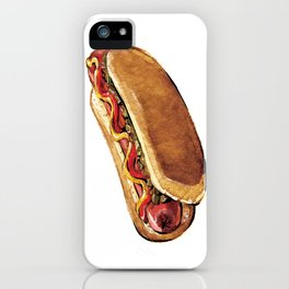 Just Hot Dog iPhone Case