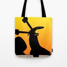 Screaming squirrel Tote Bag
