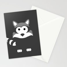 Minimal Raccoon Stationery Cards